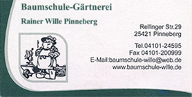 Baumschule Rainer Wille